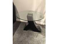 Barker And Stonehouse Side Glass Table