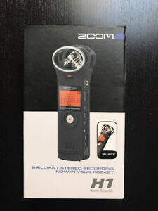 Zoom H1 Handy Recorder Like New