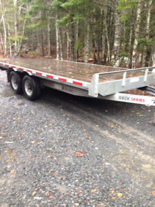 2016 K trail deck series heavy duty trailer