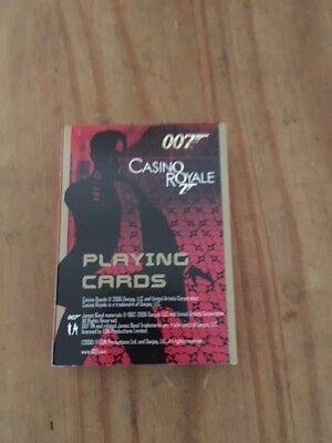 James Bond 007 Playing Cards Casino Royale Daniel Craig