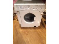 Washing Machine - indesit iwme147 white - can be used as integrated or stand-alone