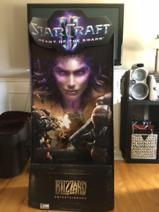 Starcraft 2 Hearth of the Storm Display