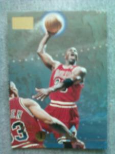 Mint 1996-97 Skybox Premium Michael Jordan basketball card