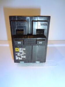 Square D Homeline 30-Amp 2-Pole Double-Pole Circuit Breaker HOM230