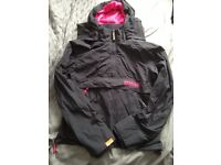 Womens Superdry hoody/jacket, size M (10/12)