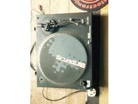 Soundlab DLP1R belt drive turntable, for parts. Free.