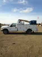 For sale 1999 and 2000 4X4 F550 Service trucks