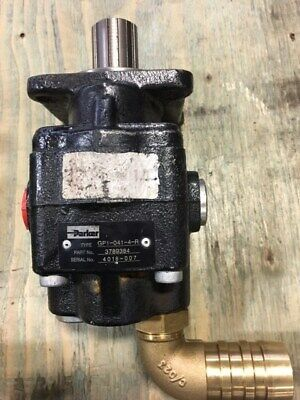 3789384 Parker Hydraulic Gear Pump Type Gp1-041-4-r