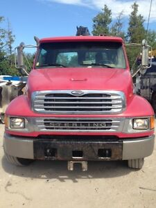 2004 Freightliner/Sterling HIAB Knuckle Boom Crane Box Truck