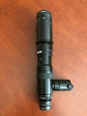 Navitar Zoom 6000 0.25x Lens 0.5x Adapter C-mount W Light Guide Ring Light