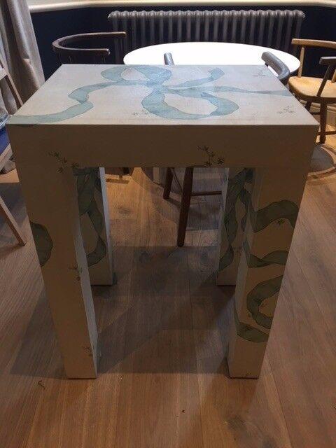 Ribbon design side table