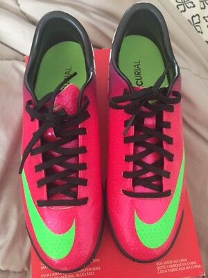 NIKE MERCURIAL VICTORY IV TF ASTRO TURF FOOTBALL SOCCER SHOES Women CR7