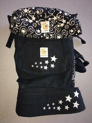 Ergo baby Original Baby Carrier Galaxy Black In Great Condition