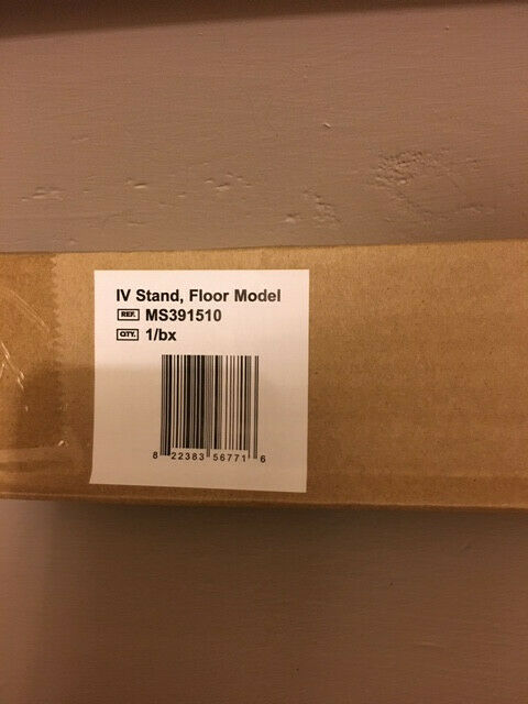 New Med Stream Collapsible I.V. Stand Pole Floor Model MS391510