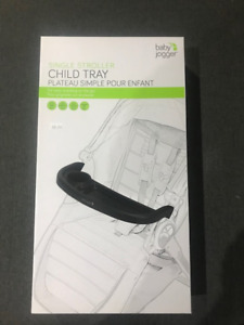 BNIB Baby Jogger Single Stroller Child Tray
