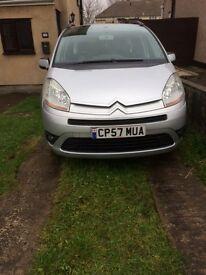 FOR SALE CITROEN C4 PICASSO 7SEATER MPV