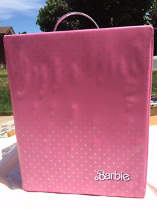 Vintage 1980's Barbie Fashion Doll Travel Case / Fashion Trunk