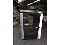 Zannussi Duel Fuel Cooker. Gas hob, Electric Fan Oven
