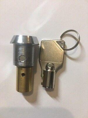 Vendworx Lock & Key For Gumball Candy Bulk Vending Machine Vend Worx V Vending