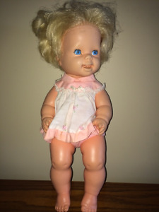 Vintage Doll that Drinks & Wets - (1970s)