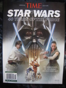 "TIME MAGAZINE SPECIAL EDITION-""STAR WARS 40YRS OF THE FORCE"""
