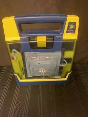 Cardiac Science Powerheart G3 Aed With Good Battery And Pads 6 Month Warranty