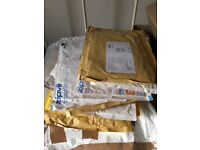 15 Padded Envelopes for re-use, 8x6 inches size etc...