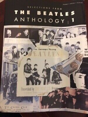 Selections From The Beatles Anthology Vol.1 Piano Vocal Guitar Book