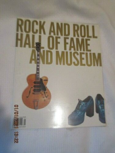 Rock and Roll Hall of Fame induction program BOOK 1995 Led Zeppelin Janis Joplin