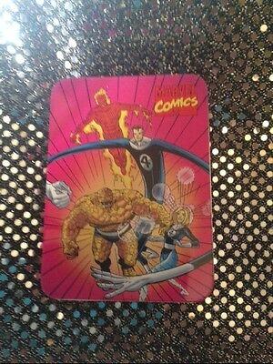 Nabisco / Marvel--Collectors Tin Fantastic Four With Box Letter Catalog 1994 NIB