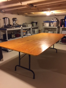 Banquet Table - Solid Wood