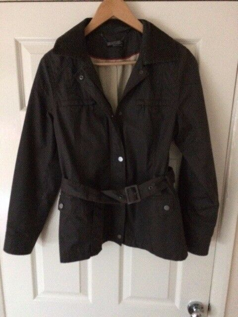 Marks & Spencer's Autograph Ladies Khaki waterproof Jacket, size 12