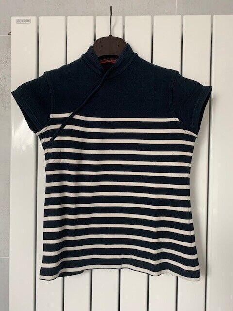 T-shirt manches courtes, marinière jean paul gaultier taille xs
