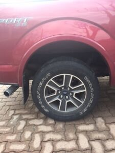 Ford F150 Rims and Tires
