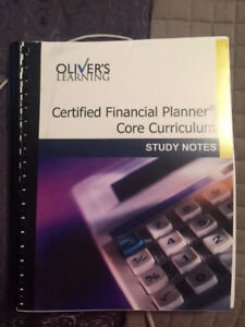 NAIT DFST4450 - OLIVERS LEARNING CFP CURRICULUM