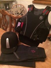 Riding accessories bundle