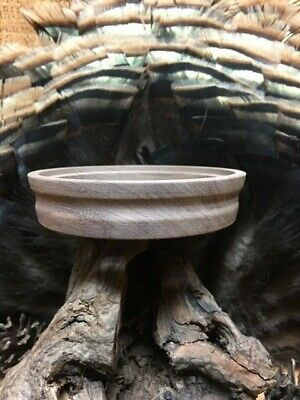 1-Custom Bolivian Rosewood  Turkey Call Pot Unfinished