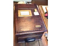 Antique till shop display til