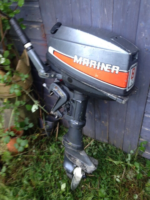 Mariner Yamaha 8hp Two Stroke Short Shaft Outboard Engine