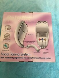 Babyliss facial toning system for skin. Unused gift
