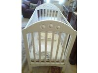 Mothercare Playbead Cot and Mattress - Hardly used