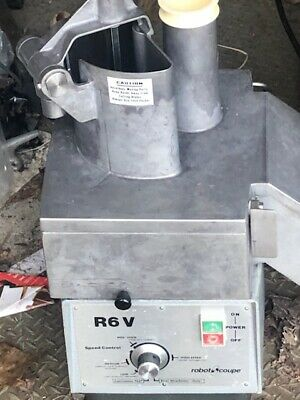 Robot Coupe Commercial Continuous Feed Food Processor Excellent Condition