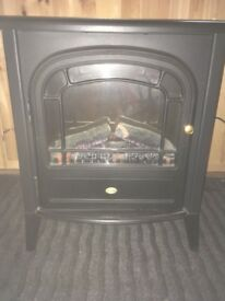 Dimplex Club 2kw Stove LED Electric Fire Black Style