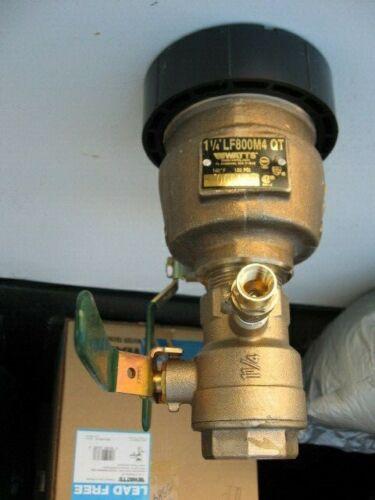 """1-1/4"""" LF800M4-QT 800-QT Watts Pressure Vacuum Breaker"""