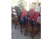 5 baltic automatic (gas) lifejackets - 3 adult and 2 junior