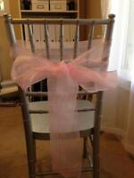 Pink organza sahes for sale
