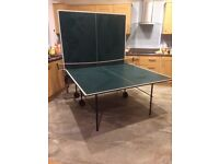 Indoor full sized 'Butterfly' folding table tennis table