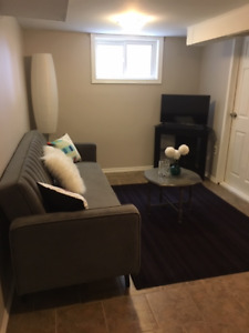 Short Term Rental- Studio Basement Apartment