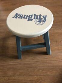 Brand New wooden stool