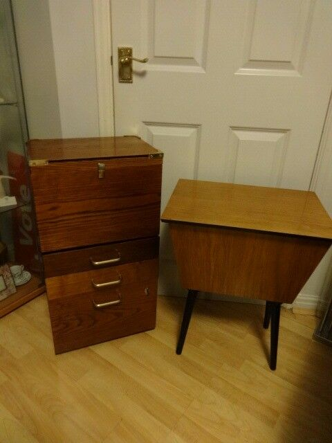 Sewing box & Filing cabinet £40 each